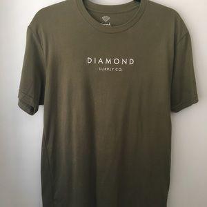 DIAMOND army green t-shirt (M)